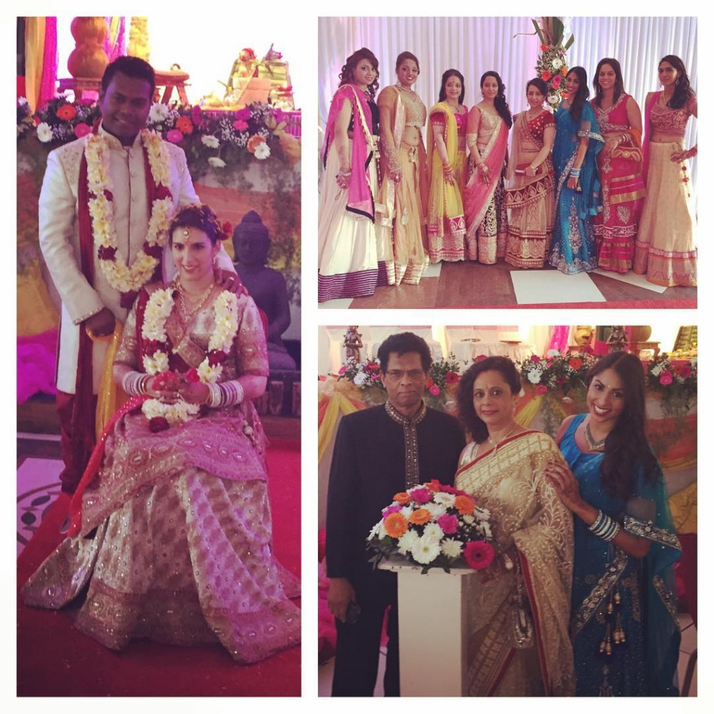 Day 3 Wedding day! Huge congratulations to Yovina and Ashwinhellip