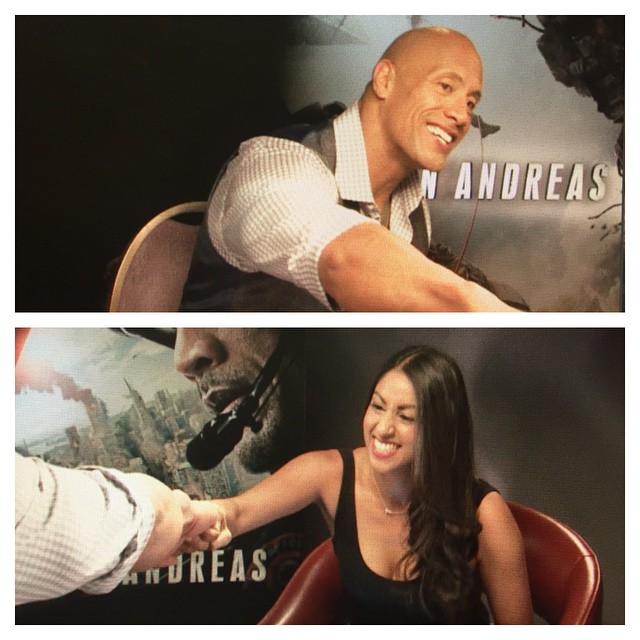 Happiness at meeting therock last week was at an allhellip