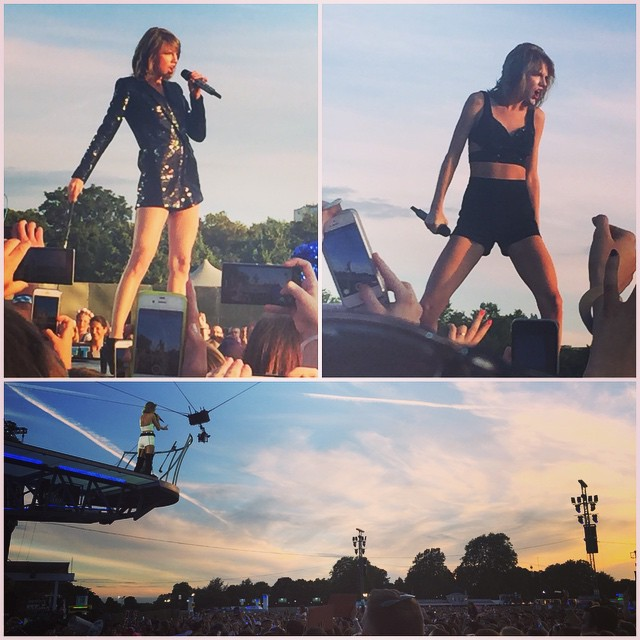 Great night seeing Taylor Swift at BSTHydePark Awesome show