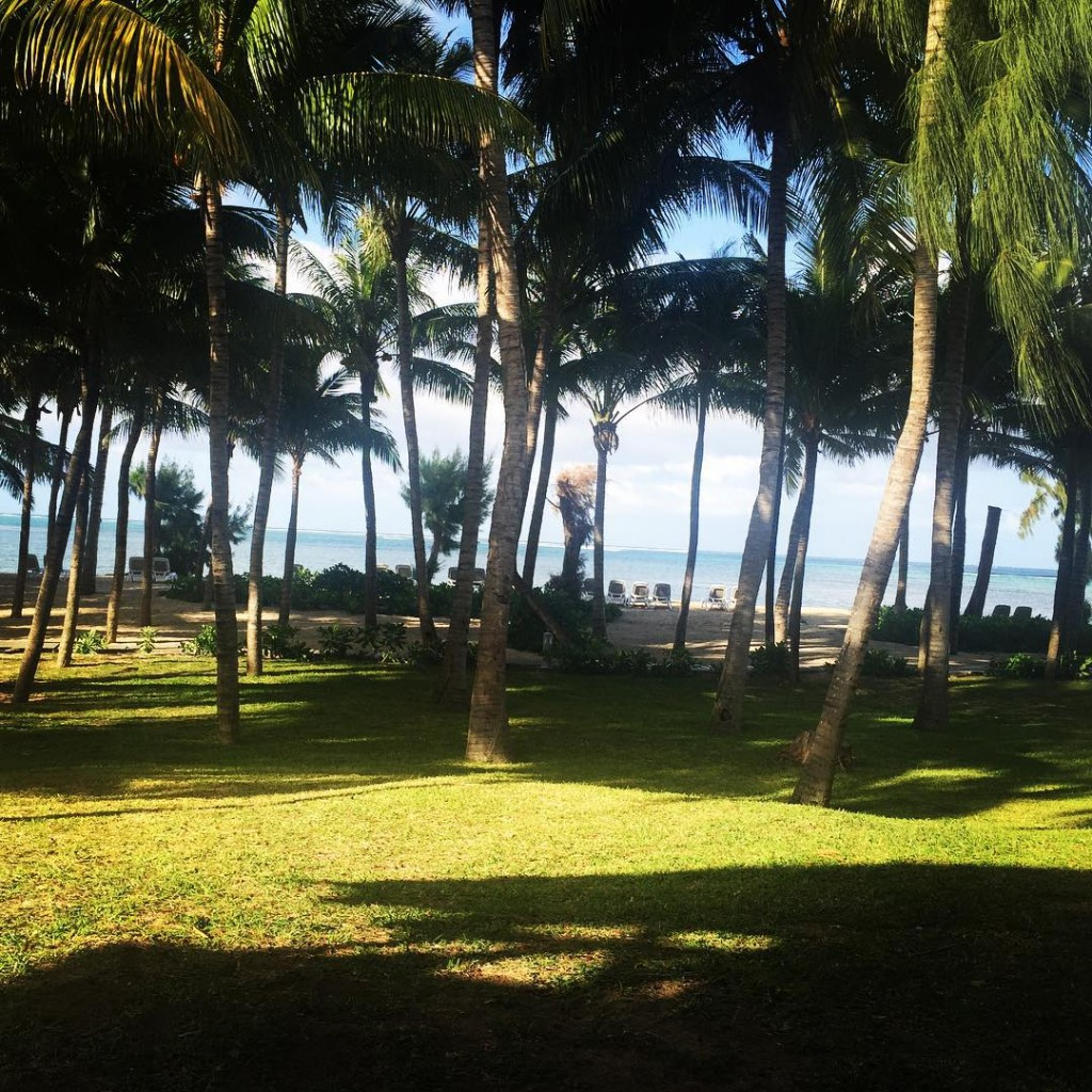 Waking up to this beautiful view this morning  Mauritius